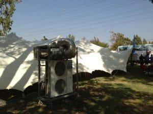 אוהל ליקרה חורף