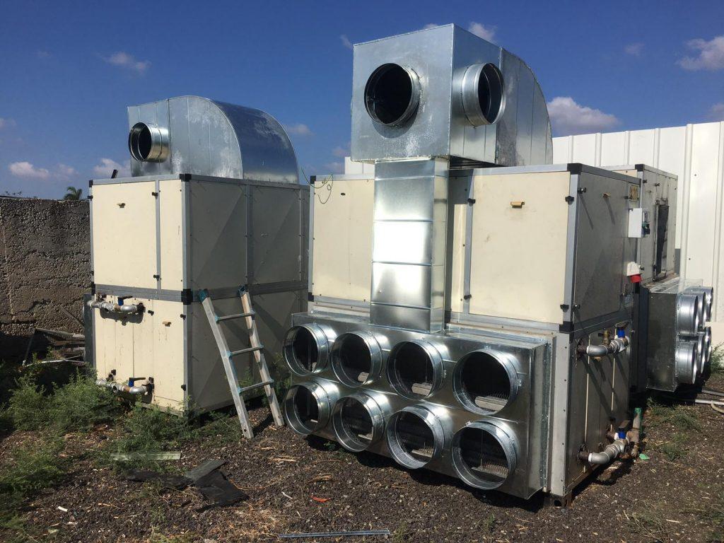 מערכות מיזוג אוויר תעשייתי